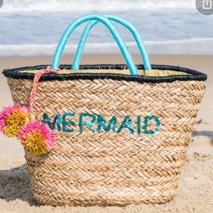 Mermaid Beach Summer Bag- New without Tags